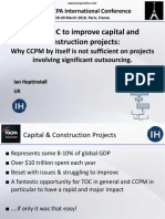 6. 38 TOCPA Paris March 2018 - Ian Heptinstall - Using TOC to Improve Capital and Construction Projects