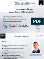 4. 38 TOCPA Paris March 2018 - Safran - How to Transform a Plant Using Theory of Constraints