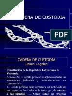 Cadena de Custodia