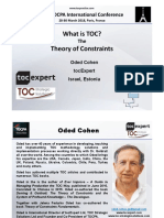 2. 38 TOCPA Paris March 2018 - Oded Cohen - What is TOC