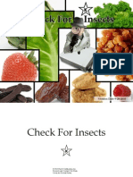 Check for Insects