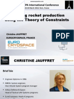1. 38 TOCPA Paris March 2018 - EuroCryospace - Boosting Rocket Production Using TOC