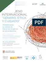 III Congreso Internacional Género, Ética y Cuidado-Visibilizando la violenca hacia las mujeres en el embarazo.