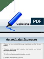 Ppt Operatoria en Q