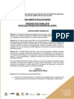 Reglamento Elecciones Iimp 2018