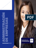 Brochure Adm Empresas Ie