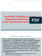 2016 ESC Guidelines for the Diagnosis and Treatment