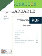 Imaginación o barbarie 12-2018 - Monográfico sobre teoría y metodología.pdf