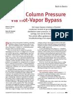 Column Pressure Control
