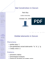 Glottal Constriction in Gorum (pdf slides)