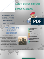 Identificación de Los Riesgos Aspecto Quimico