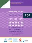 Informe Anual VCM en Amer Lat CEPAL 2013 a 2014