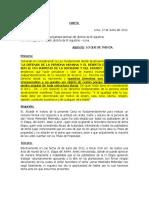 Carta Notarial Al Municipio
