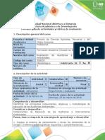 Guía de Actividades y Rúbrica de Evaluación - Paso 2- Escoger Empresa o Proceso Productivo Para La Auditoria Ambiental