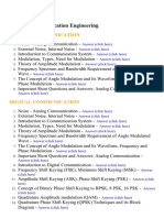 Communication Engineering - Lecture Notes, Study Material and Important Questions, Answers