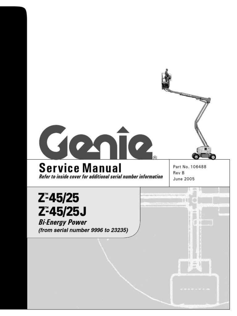 Genie 45 25J | Tire | Machines
