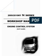 Isuzu N-series 4JJ1 engine control system Lg4jjed-We - 4jj1 Euro 5 With Dpd