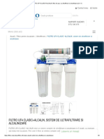 FILTRO UF4 CLASIC+ALCALIN, filtru de apa, cu ultrafiltrare si alcalinizare (2 in 1)