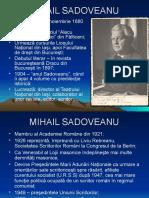 0 Mihail Sadoveanu