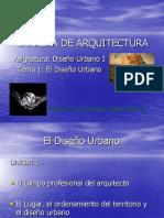 El Diseño Urbano