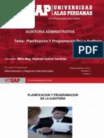 Semana 2 Planificación Y Programación De La Auditoria-2018-1.ppt