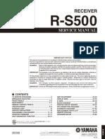 Yamaha R-s500 Sm