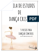 Apostila de Dança Cristã - Estudo 5 Passos Para Dançar Com Deus