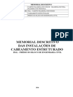 MEMORIAL CABEAMENTO ESTRUTURADO -IFAL.doc