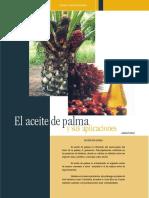 Aceite de Palma y Sus Aplicaciones