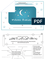 welcome ramadan activity book