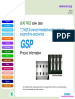 GSP Product Info 092711