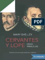 Cervantes y Lope - Mary Shelley