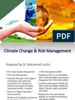 Climate Change Risk Management - Final