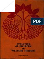 Evolution of Dialectic in Western Thought - Harsh Narain