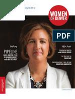 Women of Denver Magazine Spring Quarterly 2018
