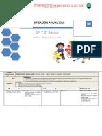 Planificacion Anual Matematica Multigrado 1basico y 2basico 2017