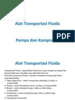 Alat Transportasi Fluida