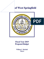 FY 2019 Proposed Budget