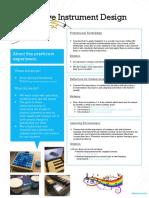 adaptive instrument design poster