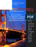 Brief Therapy 2012 Syllabus