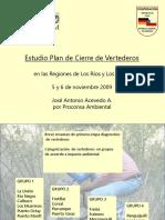 Capacitacion Estudio Plan Cierre Vertederos Noviembre 2009