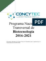 Plan Estrategico de Biotecnologia