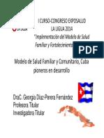 Modelo de Salud Familiar y Comunitaria - Cuba
