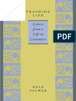 Dale Salwak Teaching Life Letters From a Life in Literature