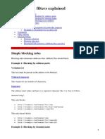 Adblock Plus Filters Explained