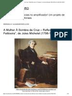 """A Mulher À Sombra Da Cruz – Reflexões Sobre """"a Feiticeira"""", De Jules Michelet (1798-1874) _ a CASA de VIDRO"""