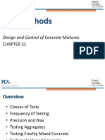 PCA Chapter 21 - Test Methods