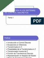1. Sistemas de Control Discretos