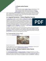 Guerra de Austria y Prusia Contra Francia
