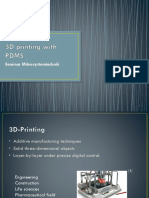 3D Printing With PDMS
